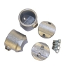 Interclamp 117X Retrofit Two Socket Cross Tube Clamp Fitting - Additional Components