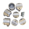 Interclamp 117Y Retrofit Side Outlet Tee Tube Clamp Fitting - Additional Components