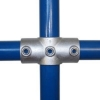 Interclamp 119 Two Socket Cross Tube Clamp Fitting