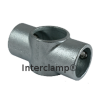 Interclamp 119R Reducing Two Socket Cross Tube Clamp Fitting - Alternative Angle 2