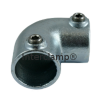 Interclamp 125 Two Way Elbow Tube Clamp Fitting - Alternative Angle 1