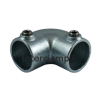 Interclamp 125 Two Way Elbow Tube Clamp Fitting - Alternative Angle 3
