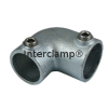 Interclamp 125R Reducing Two Way Elbow Tube Clamp Fitting - Alternative Angle 1