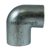 Interclamp 125R Reducing Two Way Elbow Tube Clamp Fitting - Alternative Angle 3