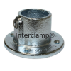 Interclamp 131 Wall Flange Tube Clamp Fitting - Alternate Angle 1
