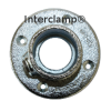 Interclamp 131 Wall Flange Tube Clamp Fitting - Alternate Angle 2