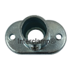 Interclamp 132 Railing Base Flange Tube Clamp Fitting - Top View