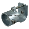 Interclamp 135 Clamp-on Tee Tube Clamp Fitting - Side View 2