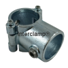 Interclamp 136 Split Tee Tube Clamp Fitting Tube Clamp Fitting - Side View