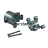 Interclamp 136 Split Tee Tube Clamp Fitting Tube Clamp Fitting - Opened Example With Screws