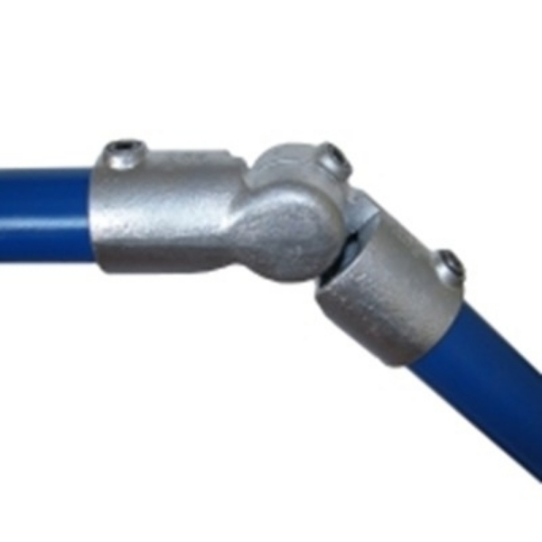 Interclamp 166 Adjustable Knuckle Tube Clamp Fitting