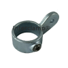 Interclamp 172M Offset Single Swivel Socket Male Part Tube Clamp Fitting - Top View