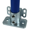 Interclamp 242 Base Flange with Toe Board Adapter Tube Clamp Fitting