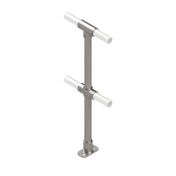 Interclamp 4020 Modular Handrail Mid Post