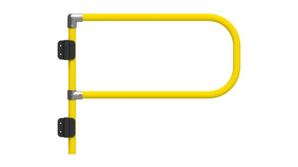 Self Closing Safety Gate - Yellow