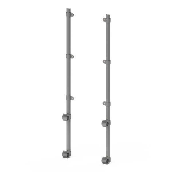 Interclamp trolley bay sign kit - double sided