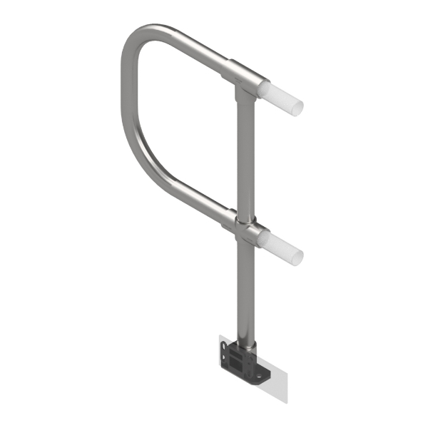 Interclamp 4030D48-FL-01  End Post with D Return