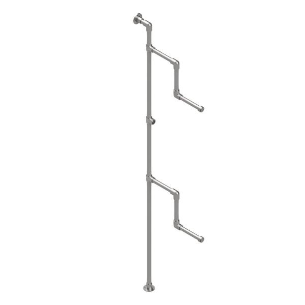 Interclamp GR0001 - Garment Rack Wall Mounted