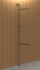 Interclamp GR0005 Garment Rack (Floor and Wall Mounted)