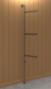 Interclamp GR0006 Garment Rack / Clothing Display (Floor and Wall Mounted)