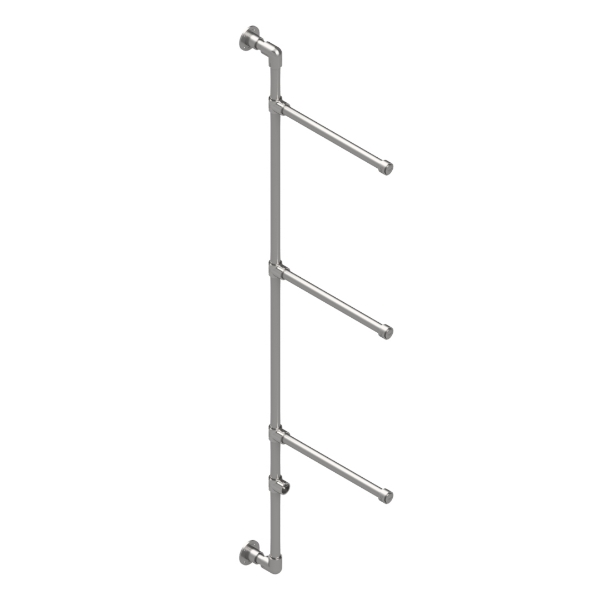 Interclamp GR0016 Garment Rack / Clothing Display (Wall Mounted)